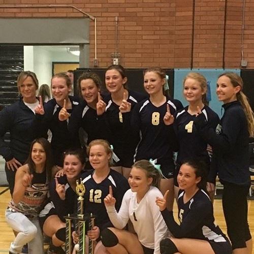 Echo High School - Girls' Varsity Volleyball