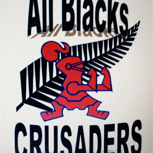 All Blacks Crusaders  - All Blacks Crusaders 10U Blue