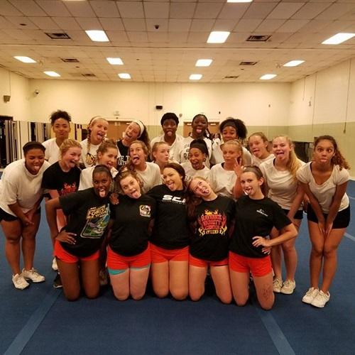 Eastern Tech High School - Girls' Varsity Cheer & Spirit