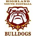 Highland Youth Football Eagles/Bulldogs - PYFL - Senior Bulldogs