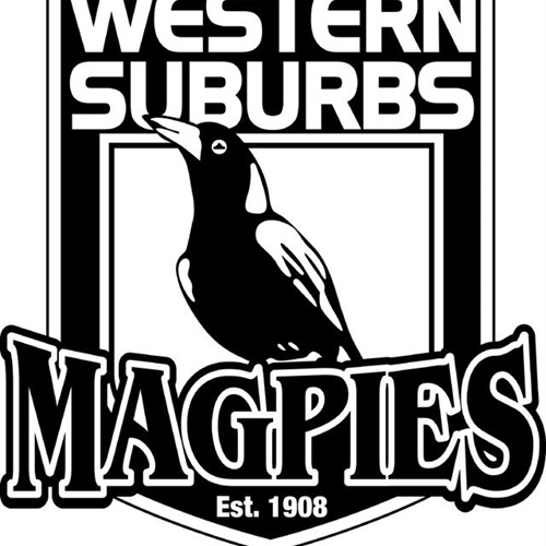 Western Suburbs Magpies - Western Suburbs - Ron Massey