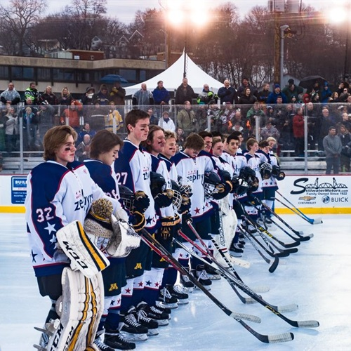 Mahtomedi High School - Boys' Varsity Ice Hockey