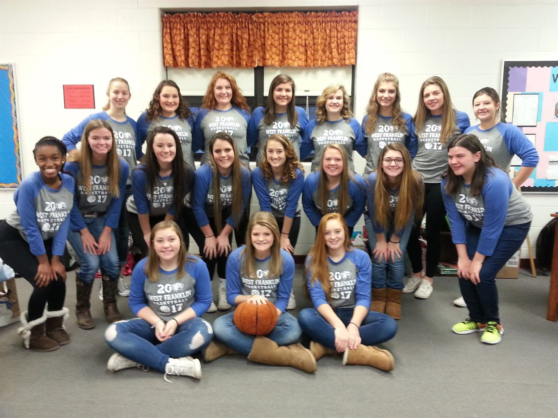 West Franklin High School - Girls' Varsity Basketball