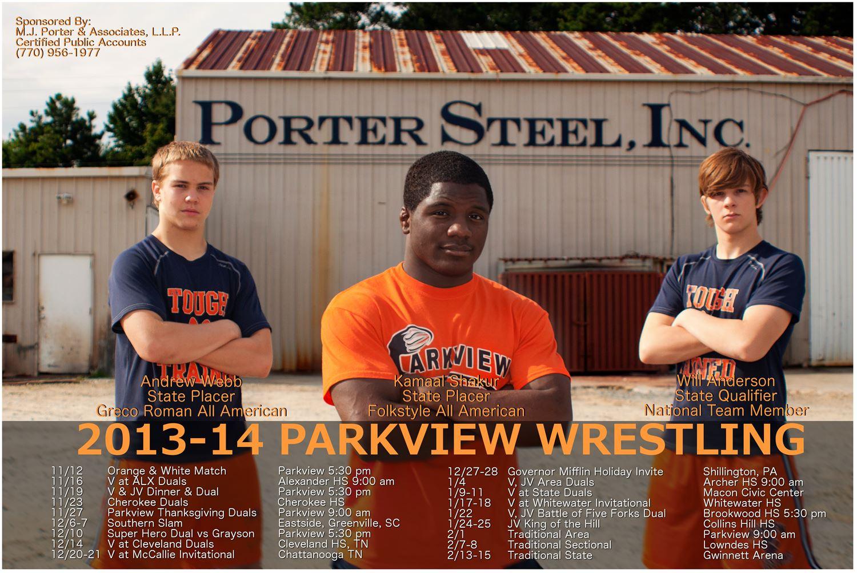 Parkview High School - Wrestling