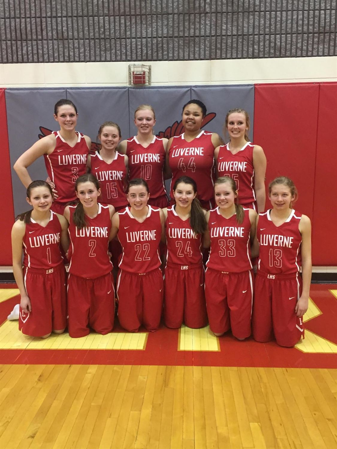 Luverne High School - Girls Varsity Basketball