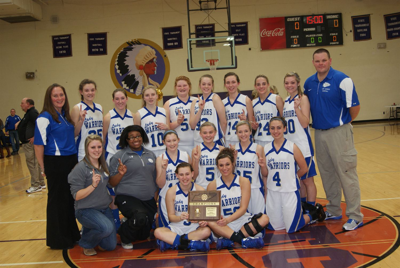Bledsoe County High School - Girl's Varsity Basketball