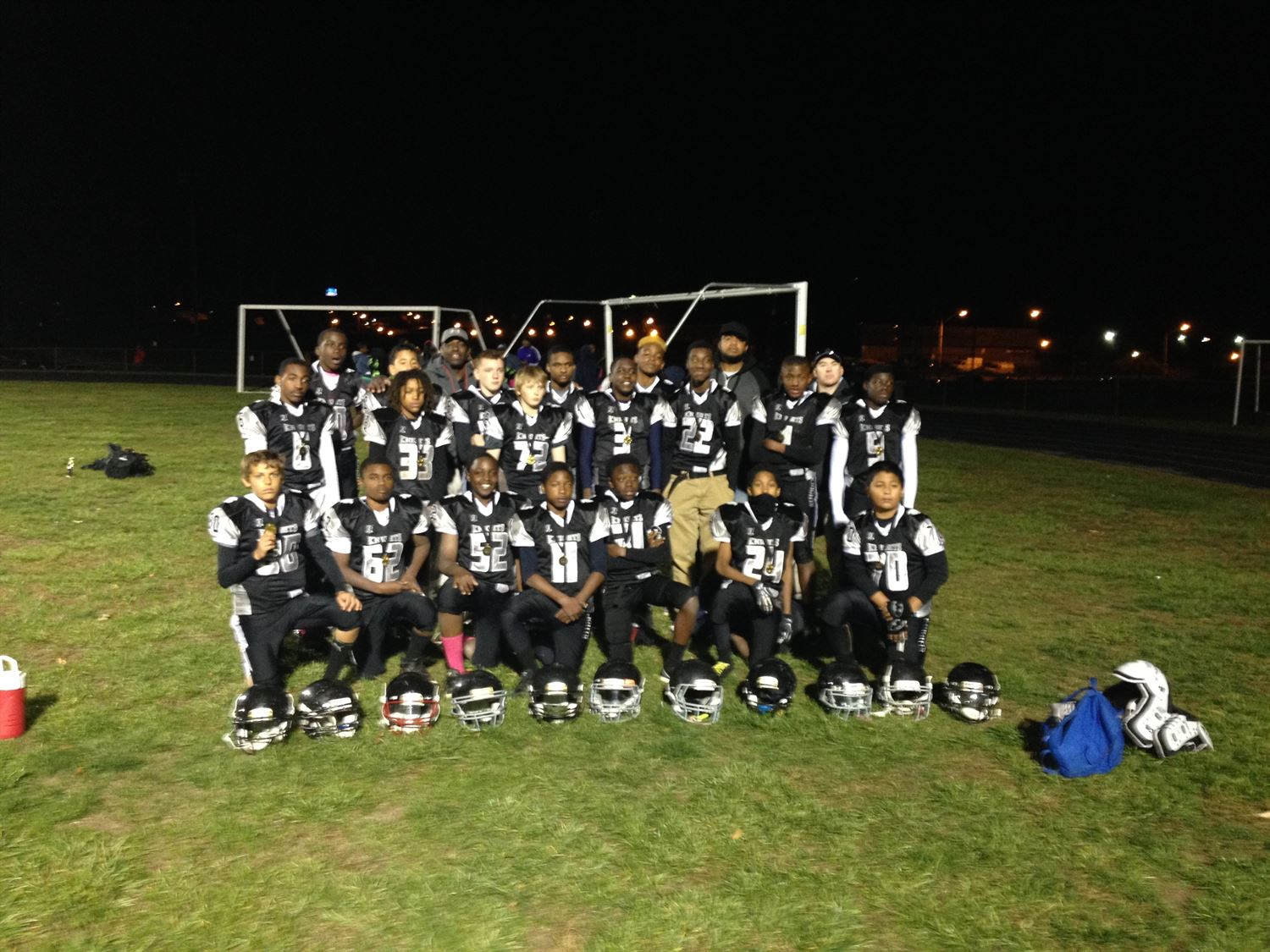Alvin McCoy Youth Teams - Montgomery County Knights