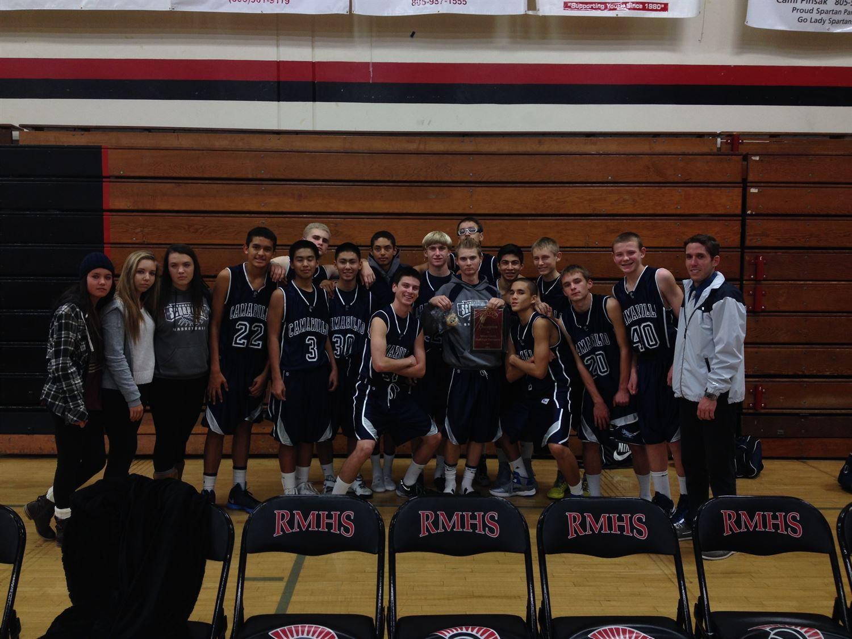 Camarillo High School - FS Basketball 2013-14