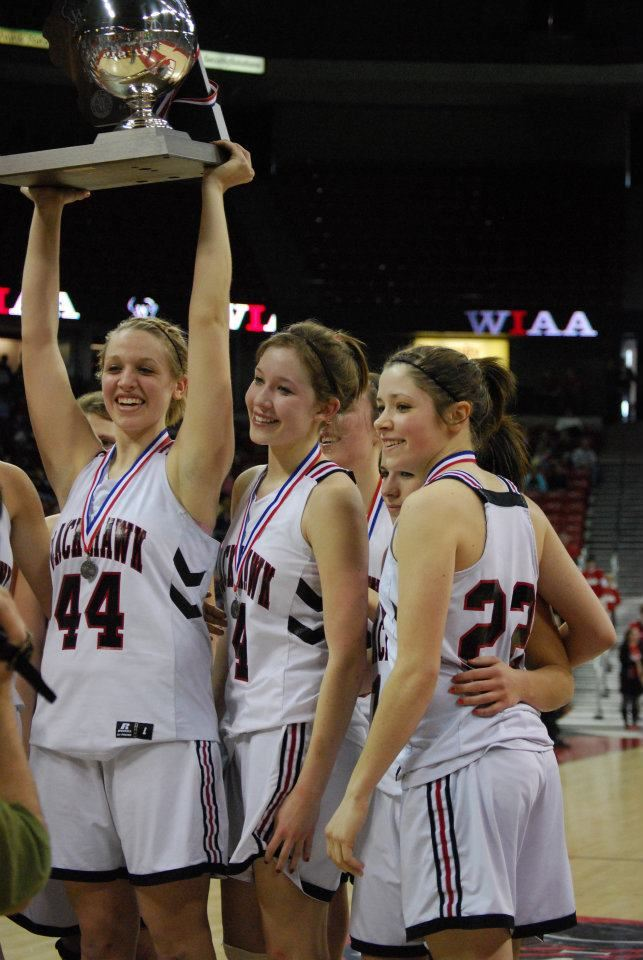 Black Hawk High School - Girls' Varsity Basketball - New