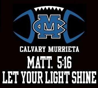 Calvary Murrieta Christian School - Jr. High Football