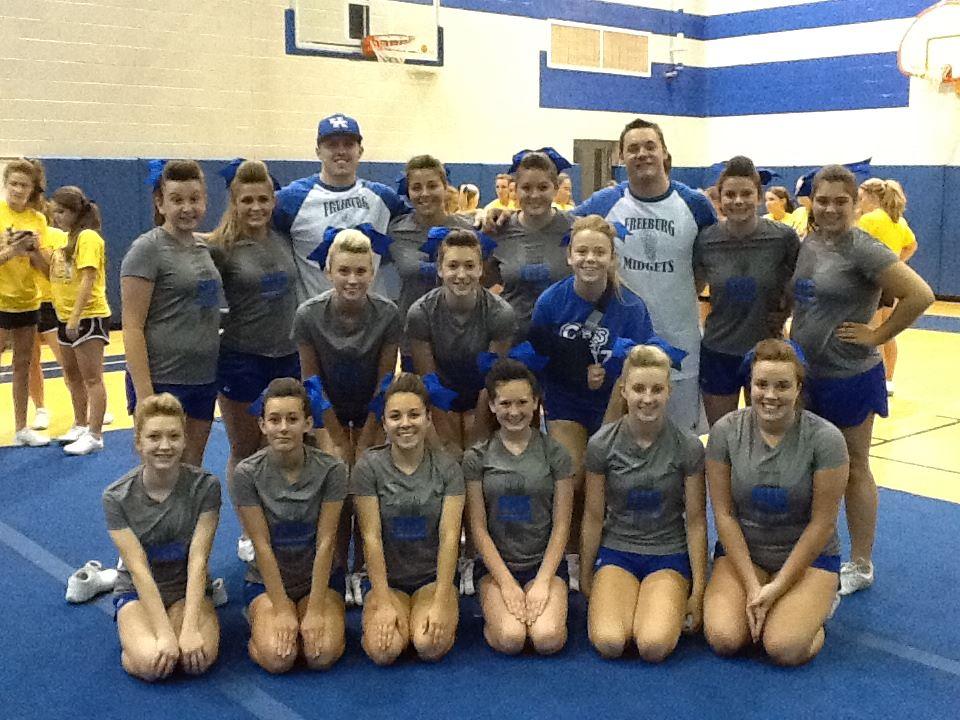Freeburg High School - Cheerleading