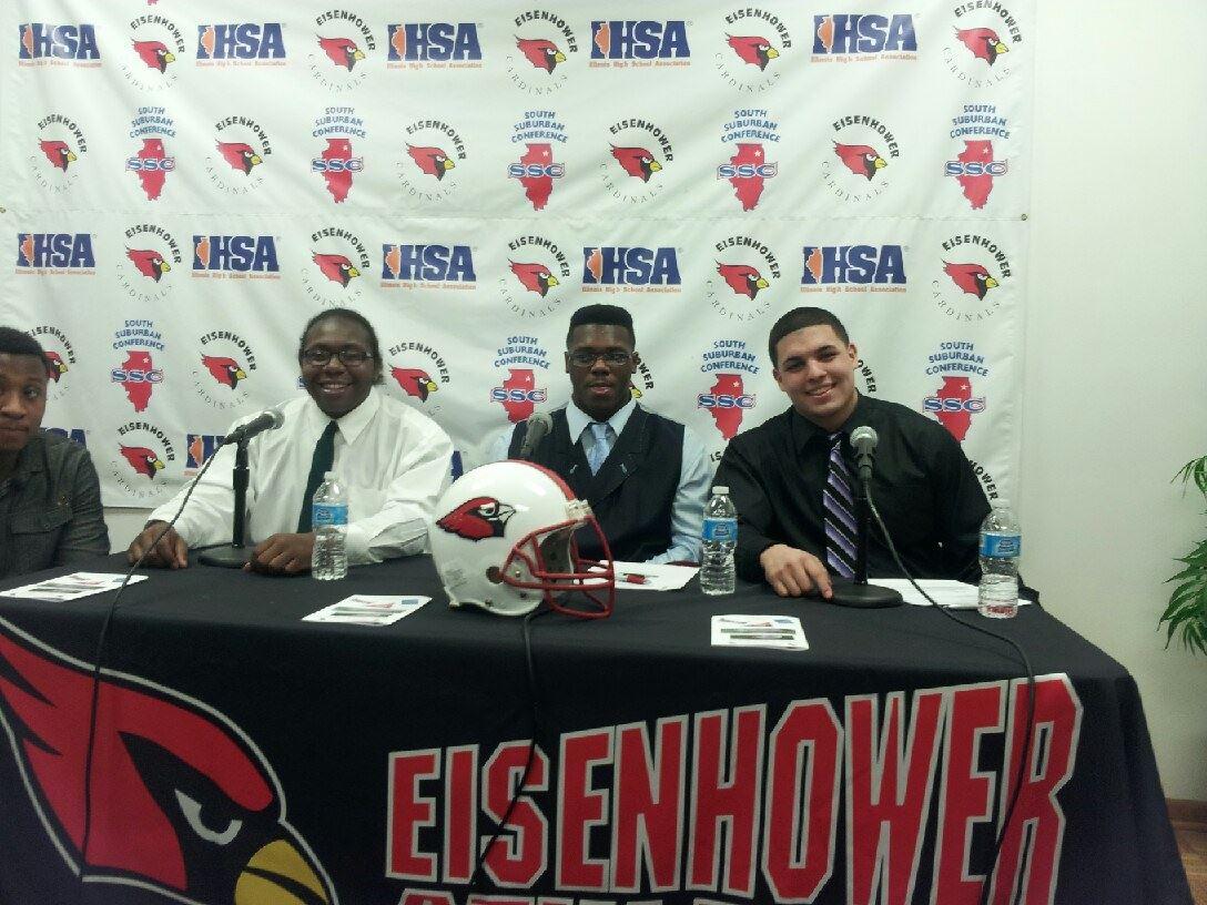 Eisenhower High School - The Birds's Nest - Varsity Football