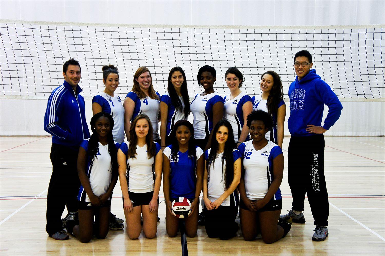 Dawson College - Women's Division 2 Volleyball
