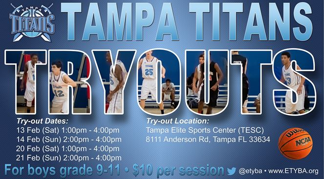 East Tampa Youth Basketball Association - Tampa Titans - UnderClassmen