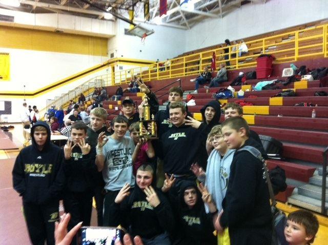 Boyle County High School - Wrestling