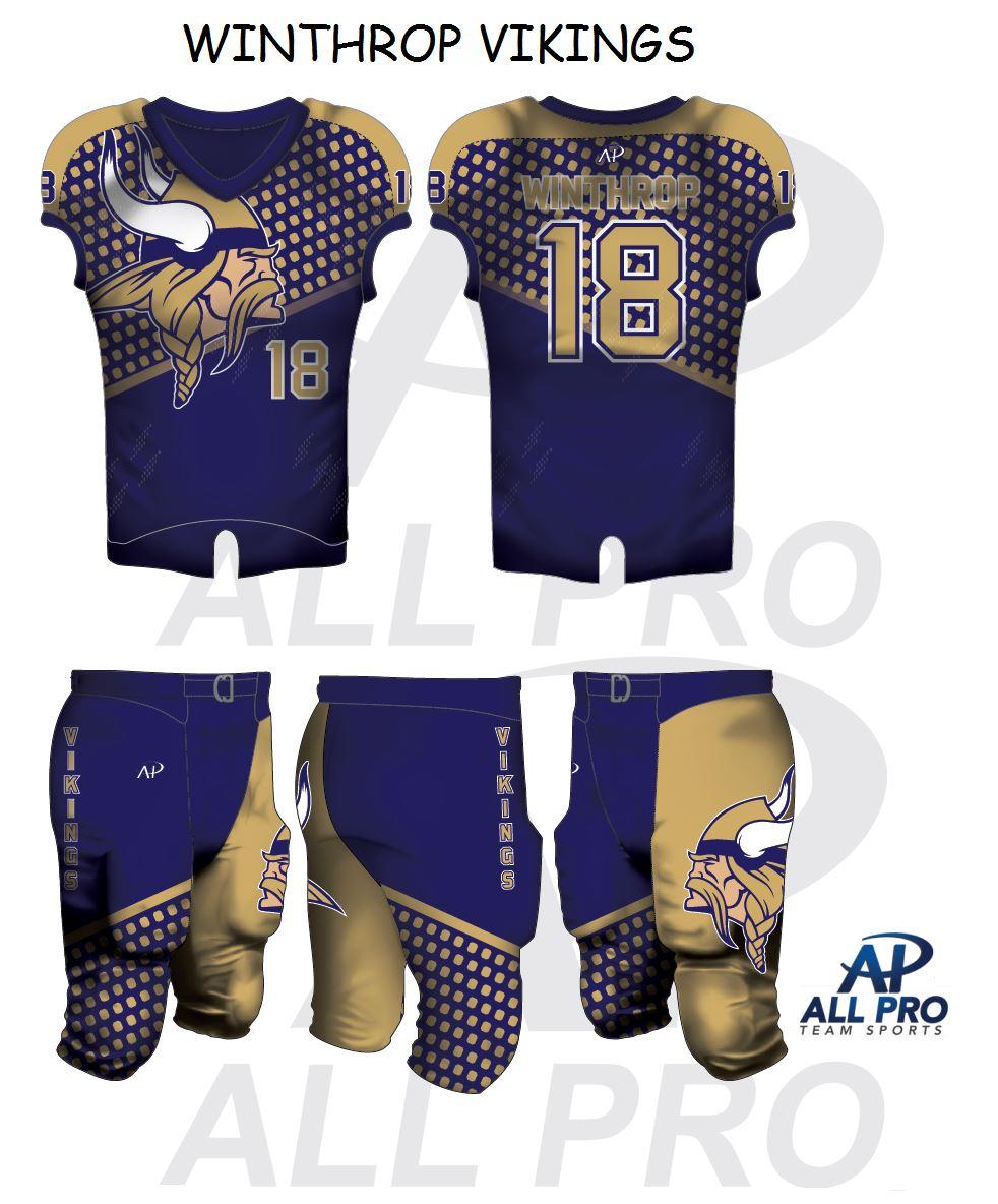 Winthrop High School  - Vikings Freshmen Team