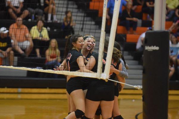 Alma High School - Girls' Varsity Volleyball