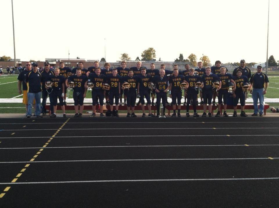 York High School - 8th grade football