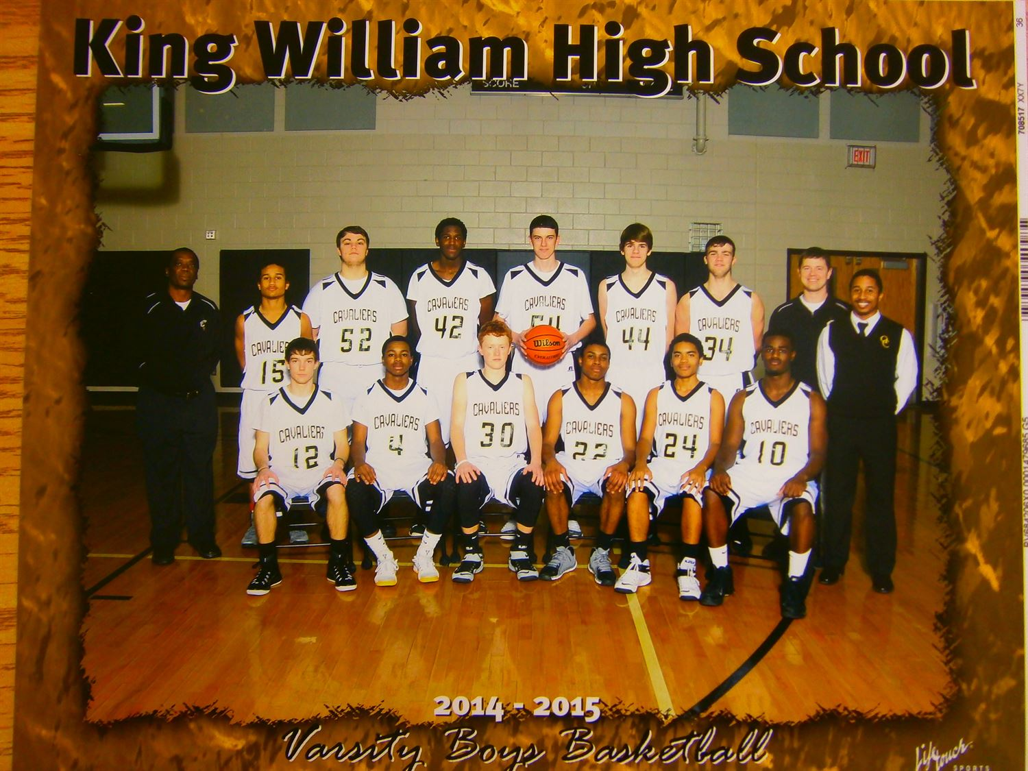 King William High School - Boys' Varsity Basketball
