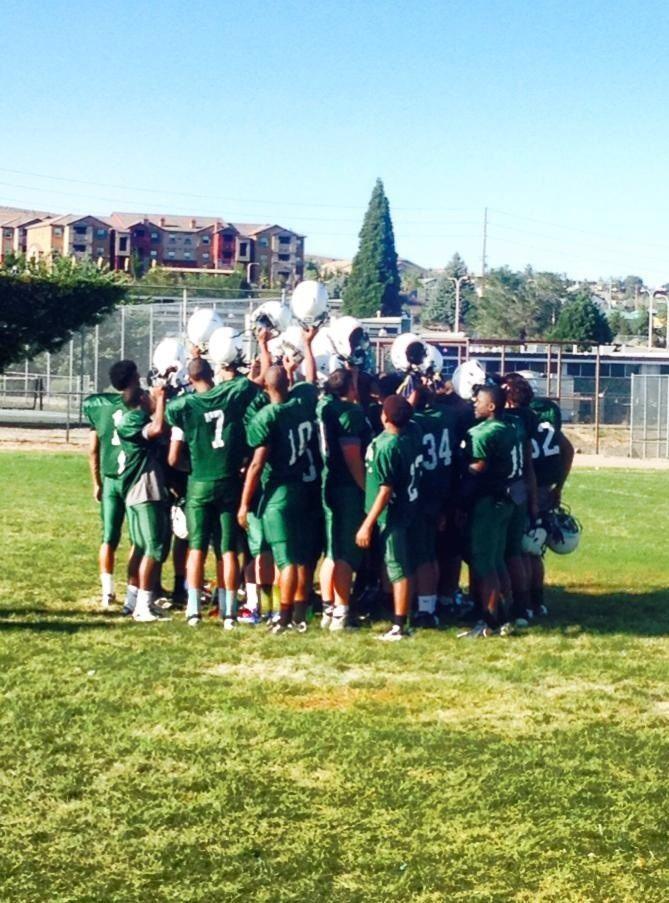 Hug High School - Hawks Football