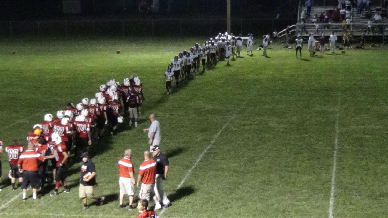 Perry Williams Football - Campbell Junior High - Campbell Cardinals