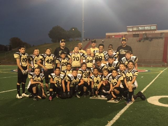 Omaha Burke Jr. Bulldogs- MYFL NE - 2016 Jr Bulldogs JV