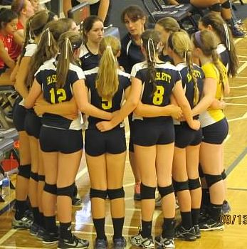 Haslett High School - Girls' JV Volleyball