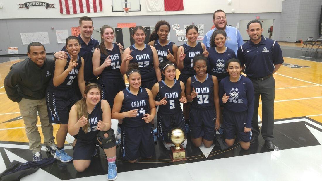 Chapin High School - Girls' Varsity Basketball