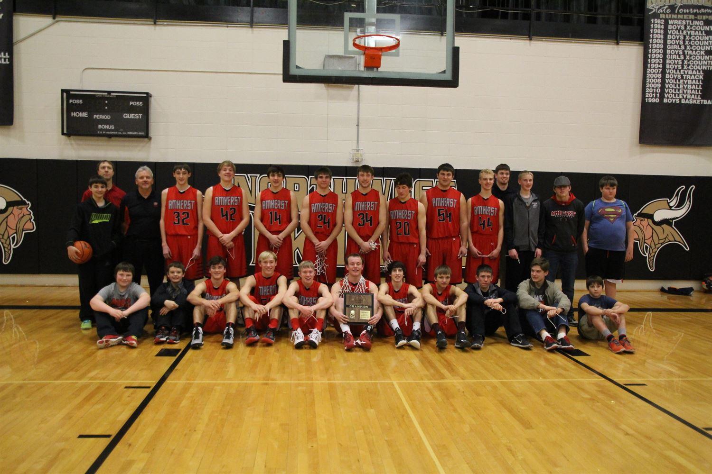 Amherst High School - Boys Varsity Basketball
