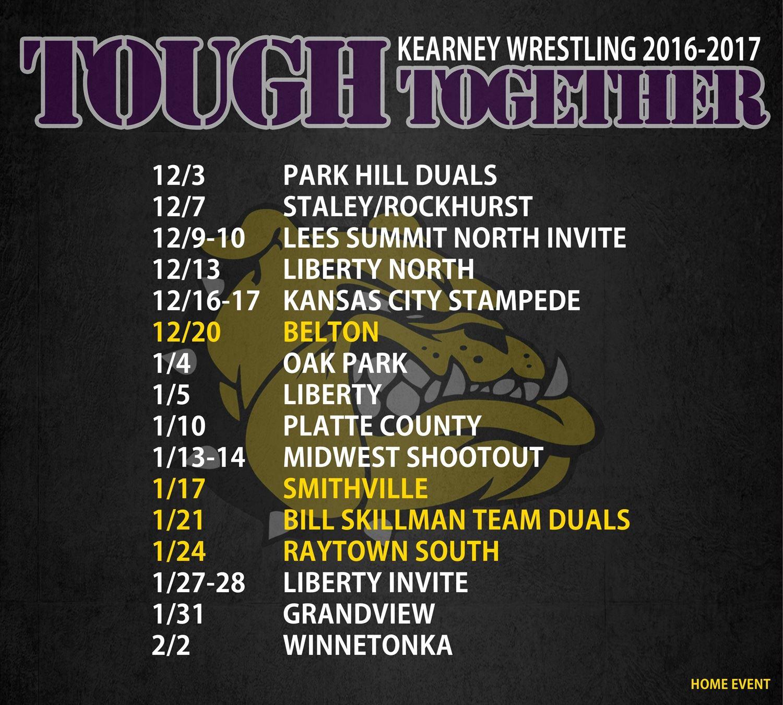 Kearney High School - KMO Wrestling