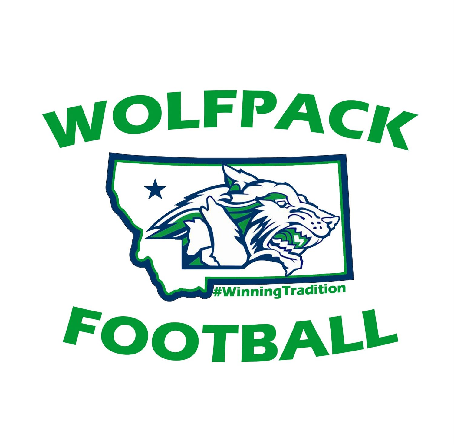 Glacier High School - Glacier Wolfpack Football