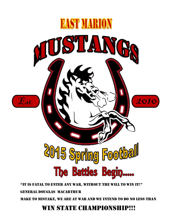 East Marion Mustangs - FYFCC - East Marion Mustangs