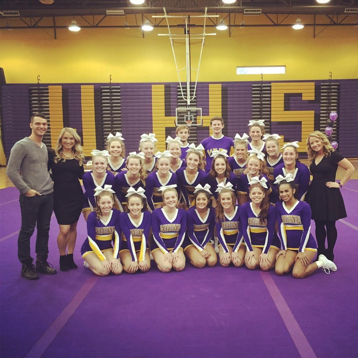 Wauconda High School - Coed Varsity Cheerleading