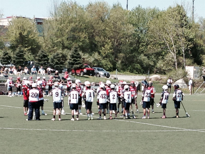 New Fairfield High School - Boys' Lacrosse-8 red