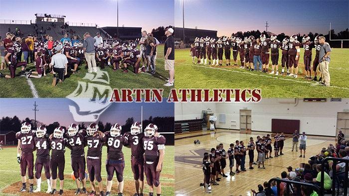 Martin High School - Boys' Varsity Football
