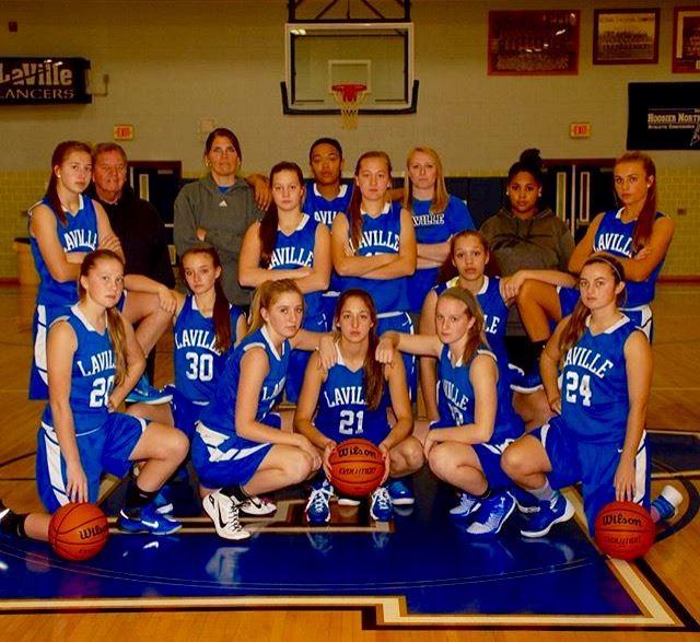 LaVille High School - LaVille Girls' Varsity Basketball