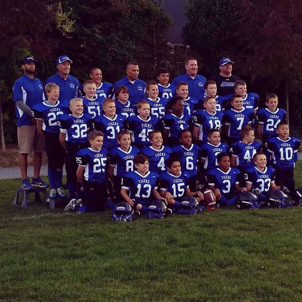 Northeast Tacoma Tigers- GPSYFL - NE Tigers Team 7/8