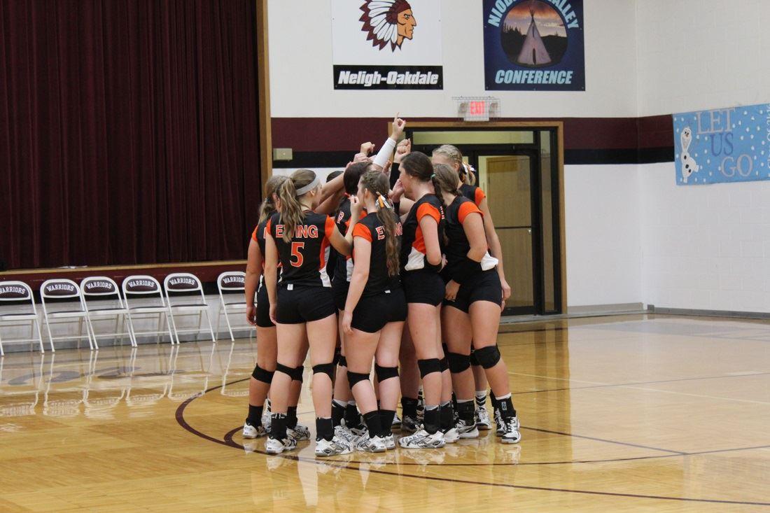Ewing High School - Girls' Varsity Volleyball