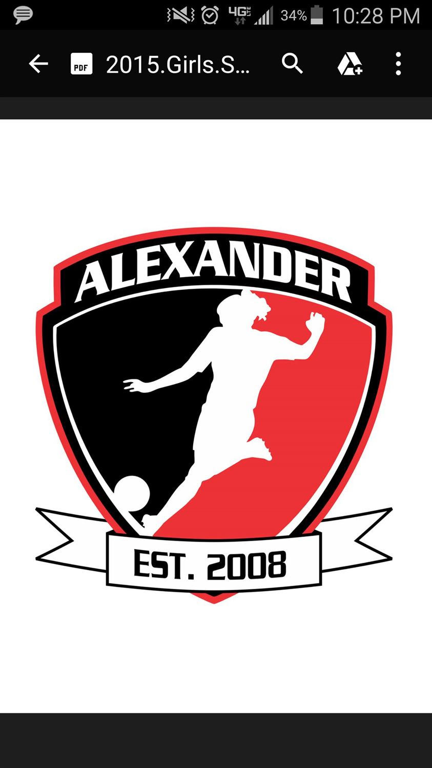 Alexander High School - Girls' Varsity Soccer