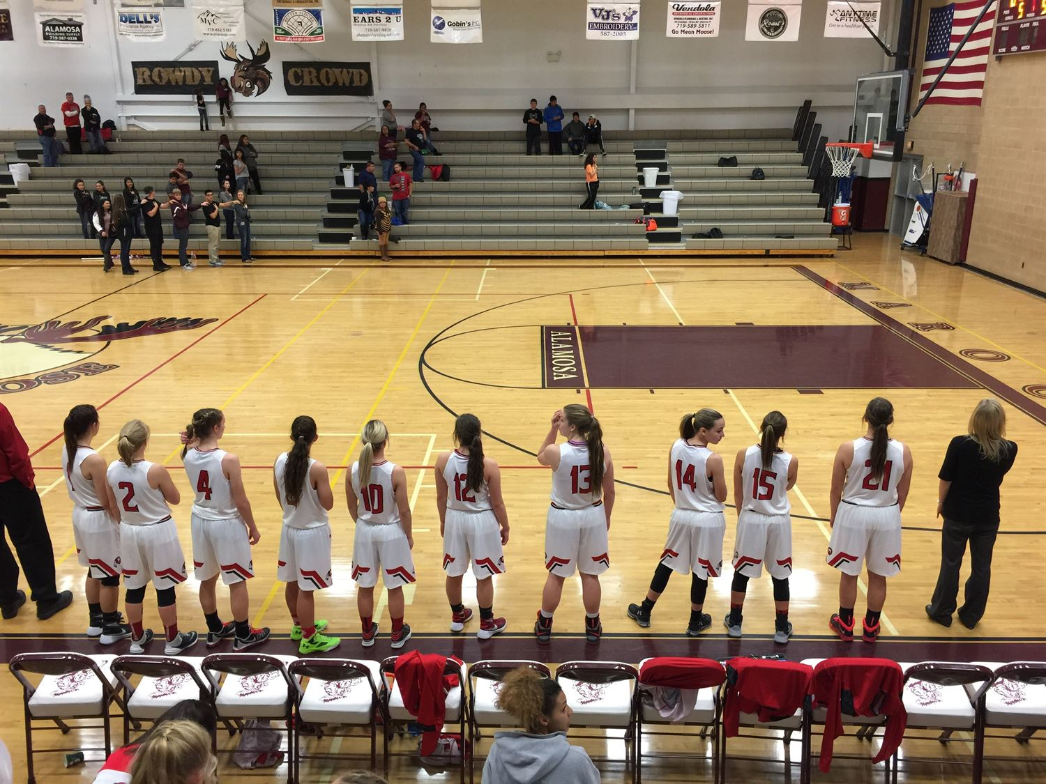 Montrose High School - Girls' Varsity Basketball