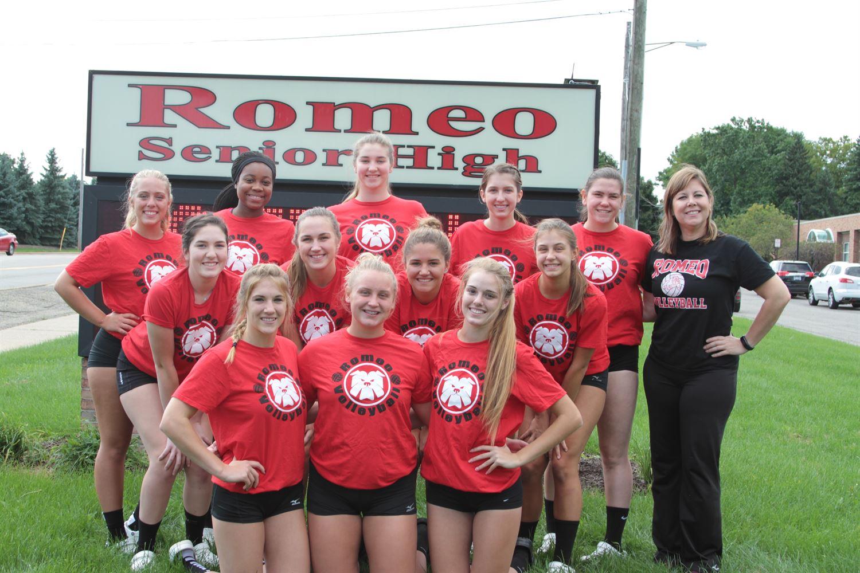 Romeo High School - Varsity Volleyball