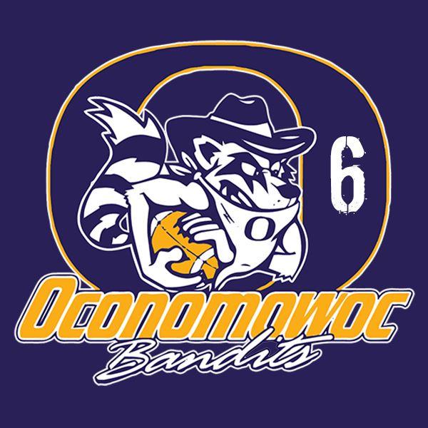 Oconomowoc Bandits - 6 Bandits Purple - Schwandt, 2017