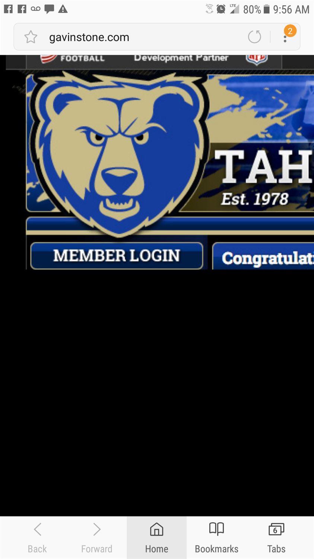 Tahoma Bears - Tahoma Bears 5/6 Gold