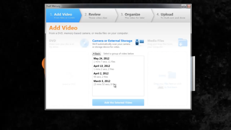 Upload From Your Camera Or Computer With Hudl Mercury