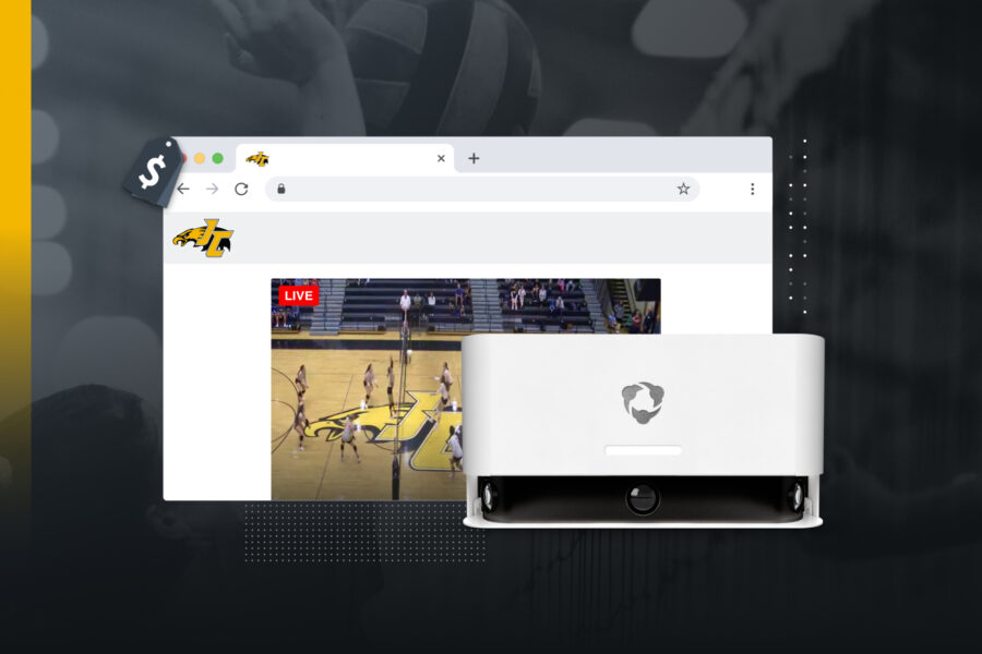 Monetize your broadcast with Hudl Focus.