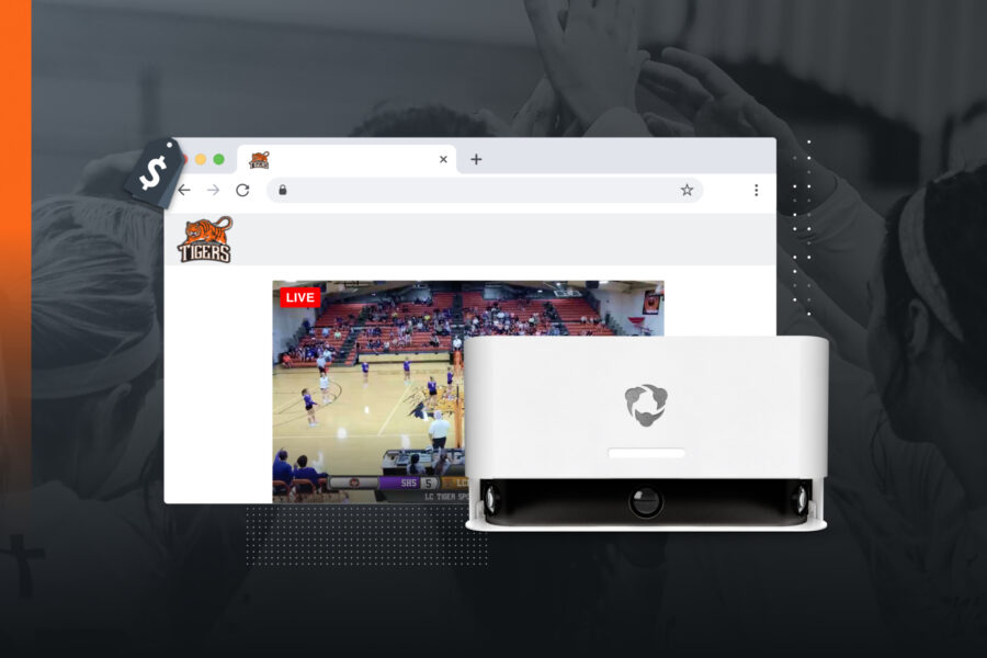 Hudl Focus gives you easy streaming and broadcast options, so you can monetize the way you want to.