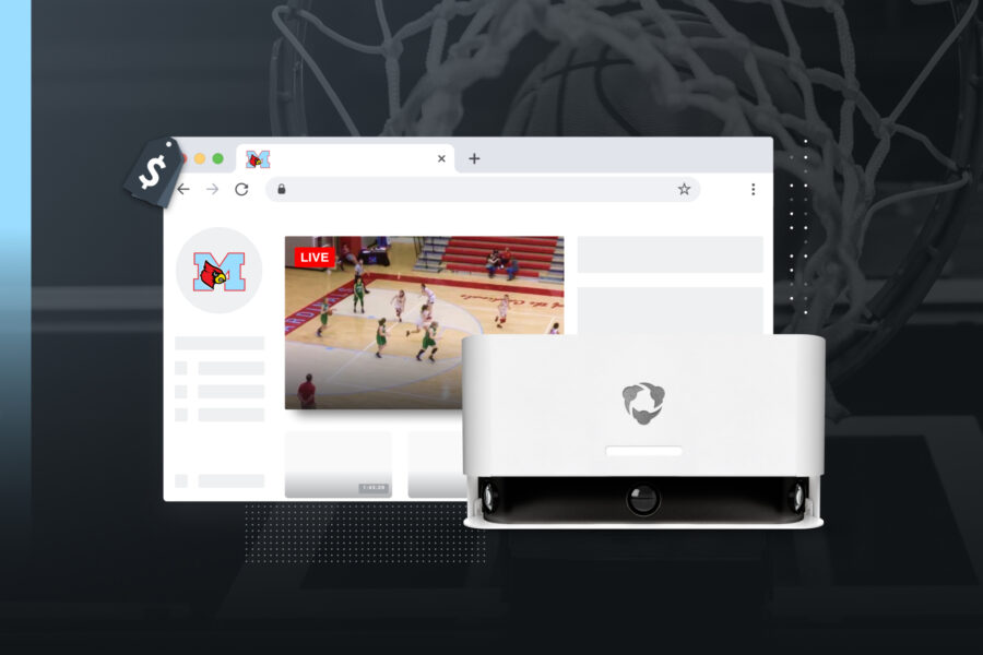 Auto-tracking camera with livestream capabilities makes monetizing broadcasts easy
