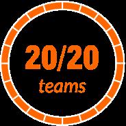 20/20 teams