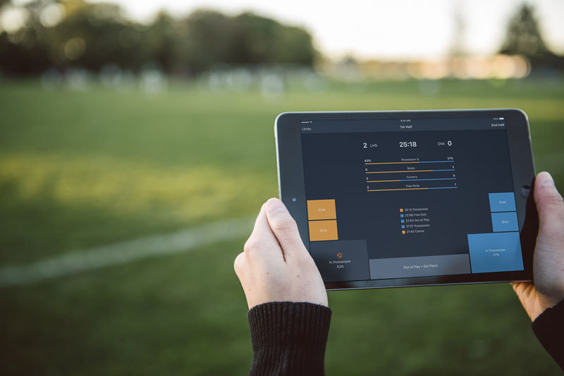 Track Soccer Team Stats Live at the Game with Hudl App