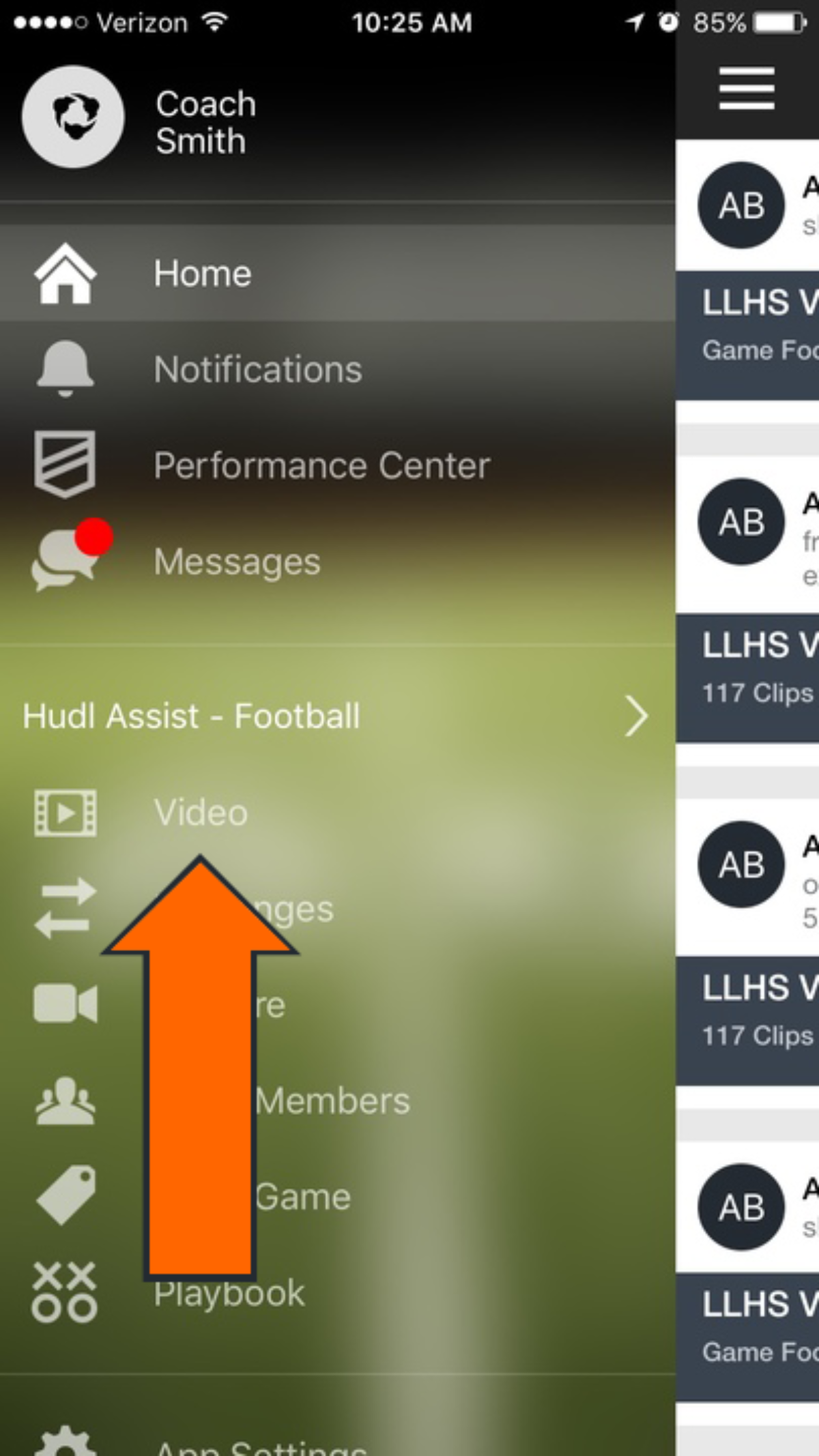 Ru customer account/downloader - Log In To The Hudl App And Tap Video